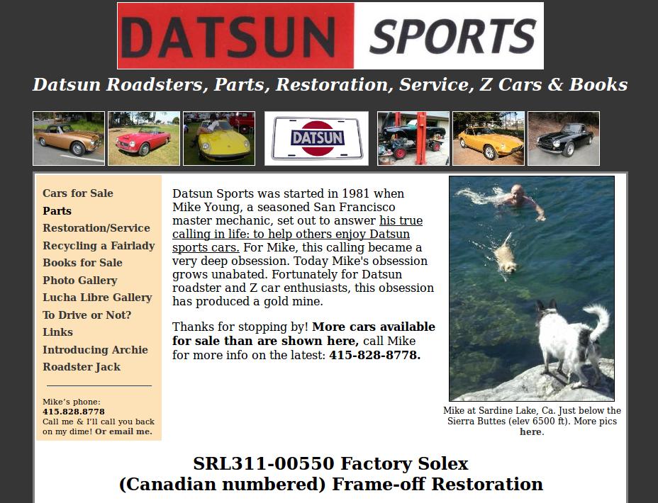 Datsun Sports
