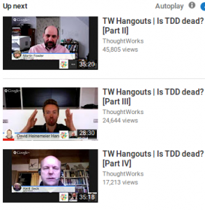 Is TDD Dead Discussion